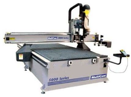 MultiCam's 5000 Series CNC Router