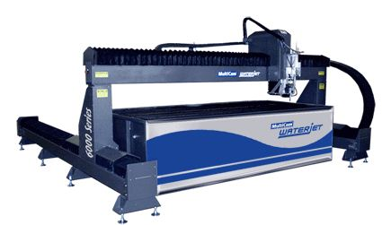 MultiCam 6000 Series CNC Waterjet